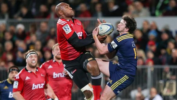 Nemani Nadolo is the only Crusaders player who is not an All Black.