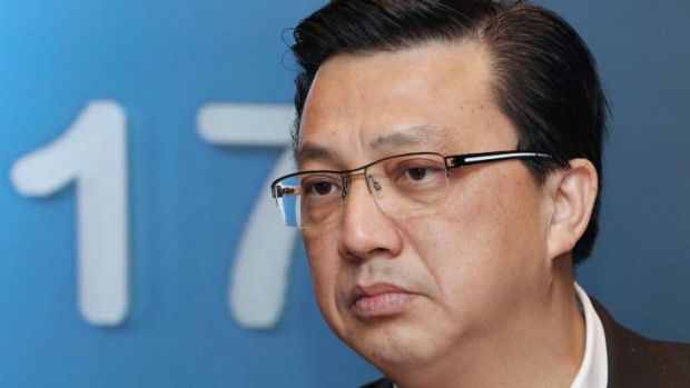 Malaysia's Transport Minister Liow Tiong Lai.