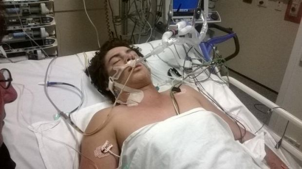Tarryn Bowers is in a coma after having a cardiac arrest during a club game.