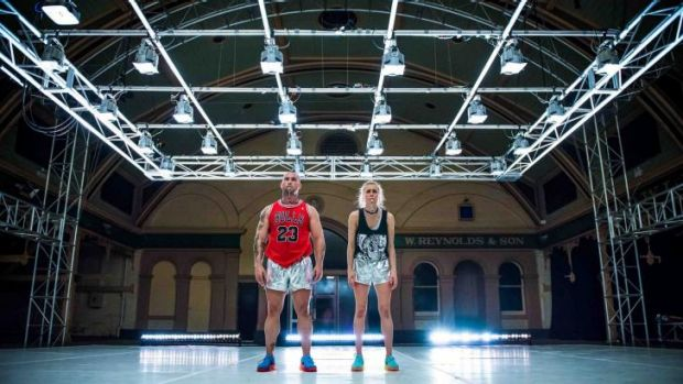 Beasty and the beast: Dancer choreographer Natalie Abbott and body builder Donny Henderson-Smith in Maximum, coming to ...