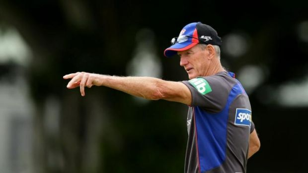 Big name, big money: Incoming Broncos coach Wayne Bennett.