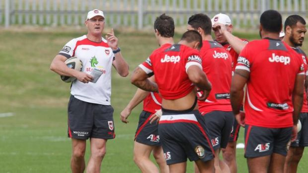 In the box seat: With Wayne Bennett returning to Brisbane, Paul McGregor looks certain to be appointed the full-time St ...
