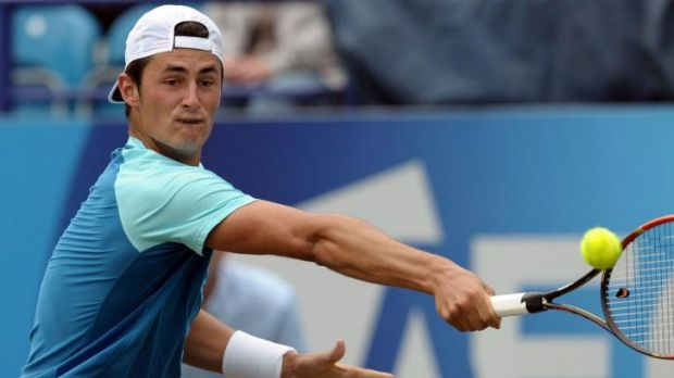 Bernard Tomic claimed his second ATP tour singles title in Bogota.