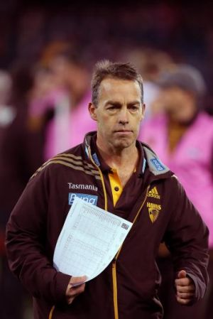 Alastair Clarkson favours faster judgments by the tribunal, at least for incidents at Friday night games.