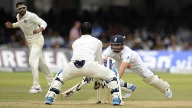 James Anderson is run out by Mahendra Singh Dhoni to give India victory over England in the second Test at Lord's on Monday.