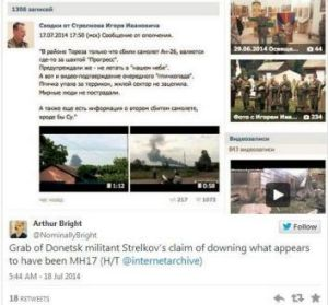 Igor Girkin, a Russian separatist leader, claimed responsibility on social media for the shooting of  a Ukrainian ...