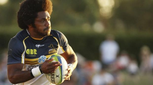 """""""He's a good player, very dangerous with the ball and everyone can see that"""": Israel Folau on Fijian winger Henry Speight."""