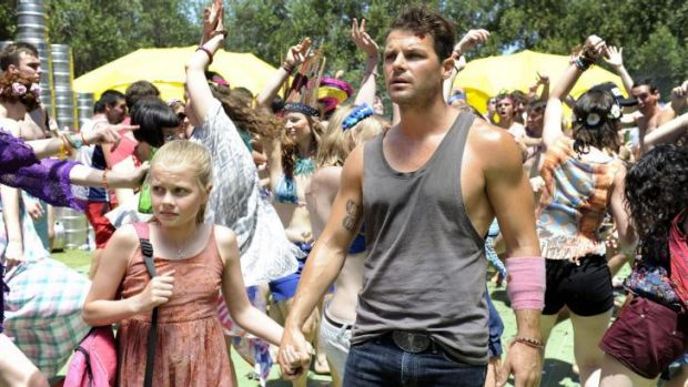 Last party: Nathan Phillips and Angourie Rice in Zak Hilditch's These Final Hours.