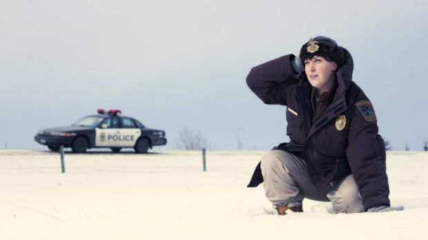 Breakout ... Alison Tolman in the first series of Fargo.