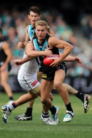 Kane Cornes breaks through another barrier.