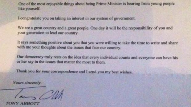 Red card for PM's reply: Claire Falls said she was offended by Tony Abbott's response to her plea for Pararoos funding.