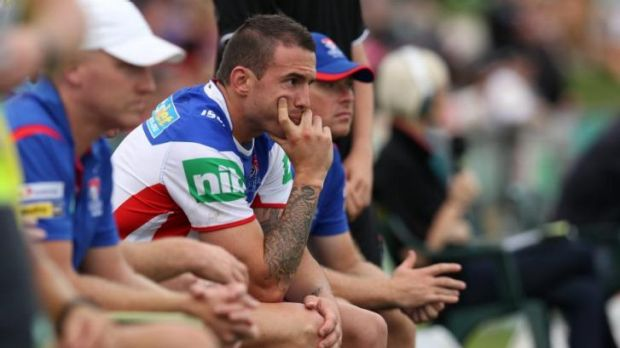 Time out: Darius Boyd is unlikely to play again in the NRL this year.