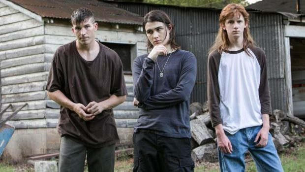 Kristopher Higgins, James Hamrick and Seth Meriwether play three teens accused of  satanic murder in <i>Devil's Knot</i>.