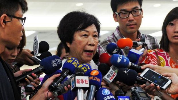 """It's chaotic on the scene"" ... The Director of Taiwan's Civil Aeronautics Administration (CAA) Jean Shen speaks to ..."