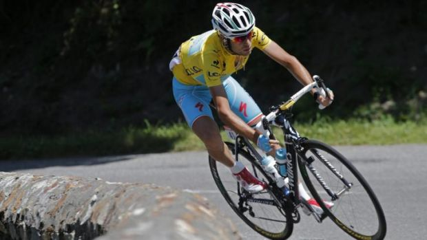 Extended his lead: Italy's Vincenzo Nibali.