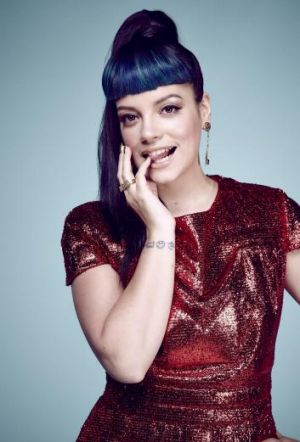 Pop wit: Lily Allen plays at the Hordern Pavilion ahead of her Splendour in the Grass appearance.