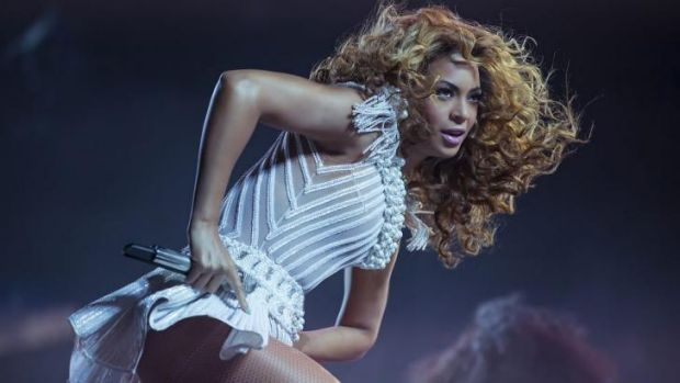 Share this: Beyonce lent her support to <i>Fifty Shades of Grey</i>, posting a teaser trailer to her near-14 million ...