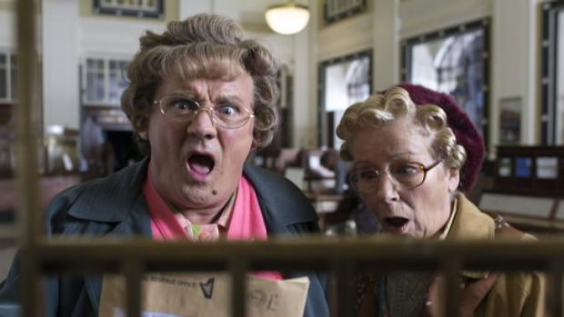 "Brendan O'Carroll stars as ""heart of Dublin"" Mrs Brown."