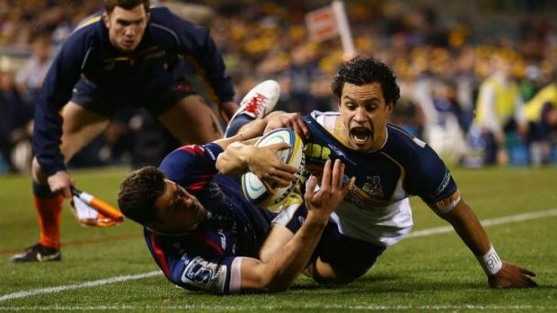 Strengths and weaknesses: Brumbies star Matt Toomua isn't without fault - as the recent Test series proved.