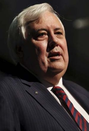 Calling for Dr Laing to resign: Clive Palmer.