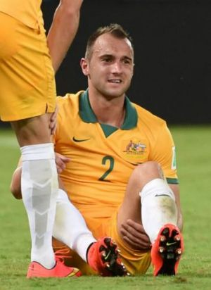 Russian move on the cards: Socceroos defender Ivan Franjic.