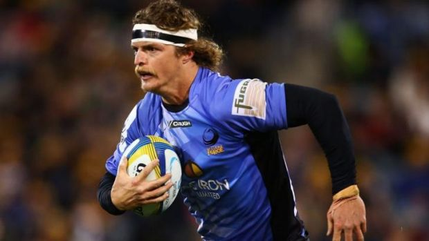 Settle down, he's just a winger: Nick Cummins has left the Western Force to take up an offer to play rugby in Japan.