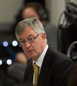 Upbeat: Treasury secretary Martin Parkinson.