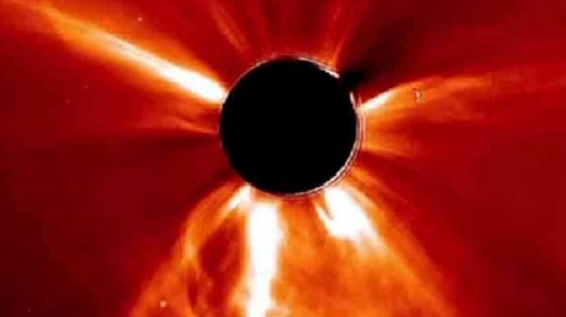 The solar storm was the most powerful detected in more than 150 years.