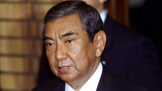 Former Japanese foreign minister Yohei Kono, in 2000.