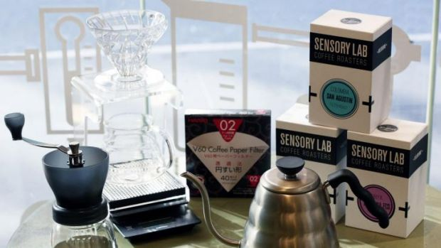 Caffeine hit: The Sensory Lab package is worth about $800.