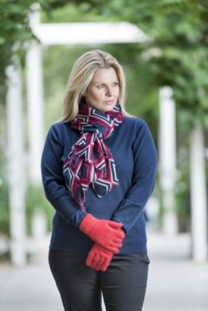 Rug up: Creswick Woollen Mills has you covered this winter.