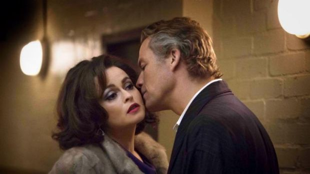 Starry-eyed love: Helena Bonham Carter and Dominic West star in Burton and Taylor.