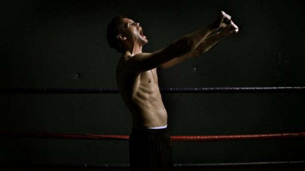 Ready to take on the best: Daniel Geale during a training session in Sydney before flying to the US to face Gennady ...