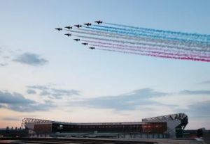 Watch the skies: Commonwealth Games.