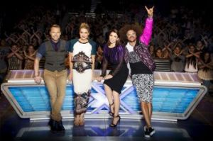 Shout out: The X Factor.