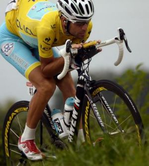 Italian Vincenzo Nibali is on the brink of victory.