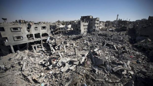Families returned to Gaza City on Saturday to find their homes ground into rubble by relentless Israeli tank fire and ...