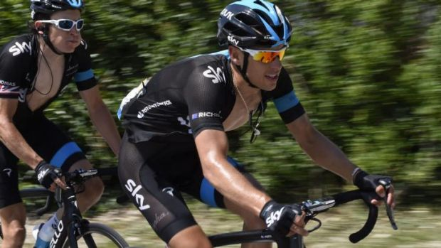 The final countdown: After the second-last stage of the Tour, Richie Porte wound down with a few drinks with riders from ...
