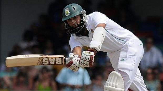 Key man: South African cricket captain Hashim Amla.