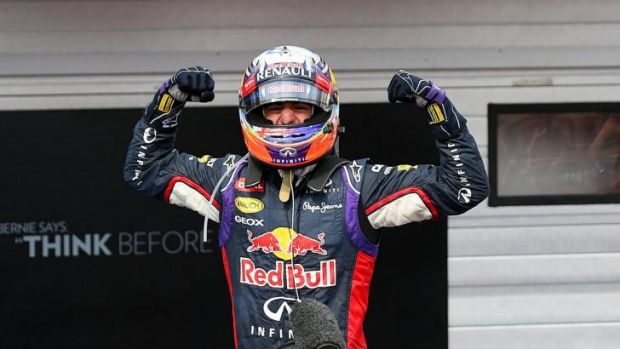 'I was just as hungry for this second one and it feels just as good.': Daniel Ricciardo.