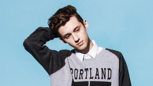 From movie star to pop sensation: Troye Sivan.
