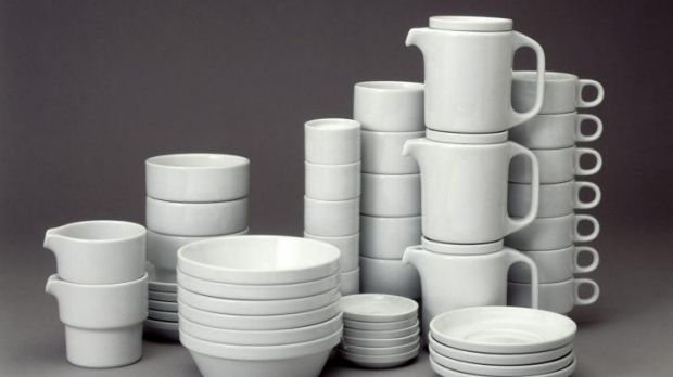 Instant classic: Ulm stackable tableware was one of the School of Design's success stories.