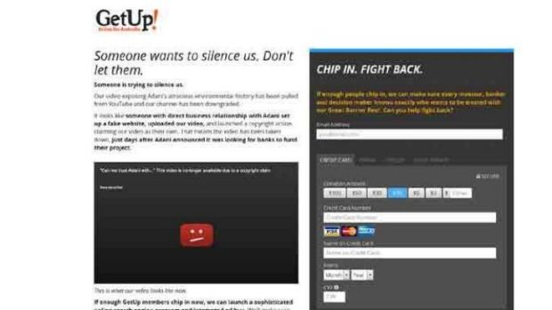 GetUp! fights back with fund-raiser.