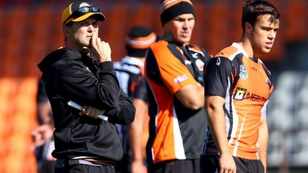 Uncertain future: A decision on whether to keep Mick Potter as Tigers coach will be taken by a new board effectively ...