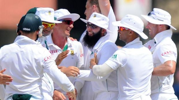 Plenty to celebrate: the Proteas have reclaimed the top Test ranking.