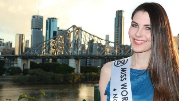 Stephanie Campbell, 24, pulled out of the Miss World Australia 2014 competition at the last minute.