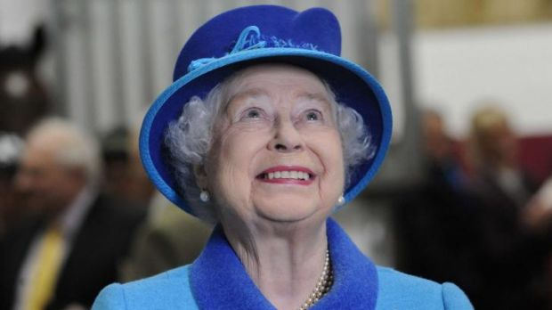 "The Queen is described as ""uneducated but honest through and through''."