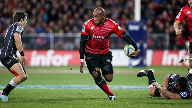 Danger-man: Nemani Nadolo of the Crusaders.