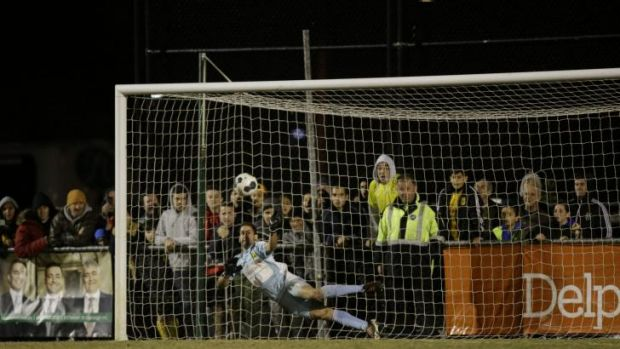 The game-winning save by South Springvale goalkeeper Rani Dowisha.