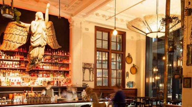 The space above The Trustee's main dining area has been relaunched as Angel's Cut, which specialises in rum.
